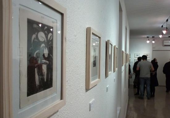 نمایشگاه سومین سالانه تبادل چاپ دستی در نگارخانه لاله