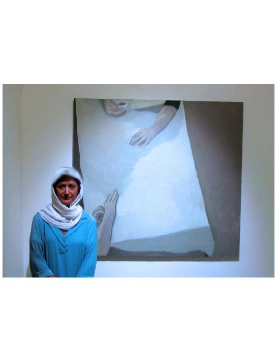 آیا اجسام انسانها را بلعیدهاند؟ / گزارشی از نمایشگاه نقاشیهای الهه حیدری در گالری ˝اثر˝