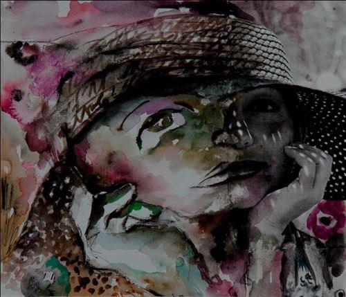نمايشگاه نقاشي هاي مريم شريفي
