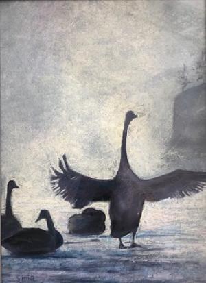 Pastel Painting Of Sima Assadnasab