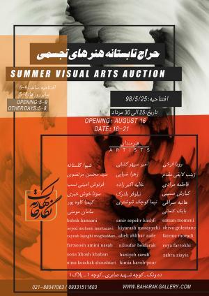 summer visual arts auction