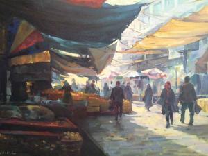 Chalous market  Mohammad Reza Zohurian