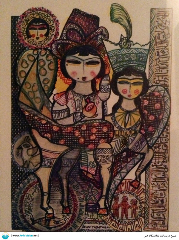 Works Of Art Zhaze Tabatabaie