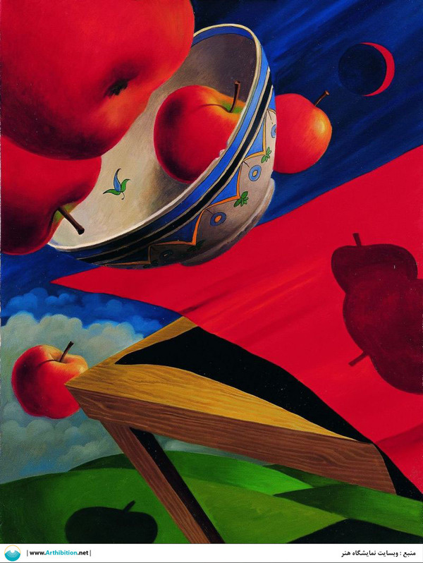 Works Of Art Ali Akbar Sadeghi