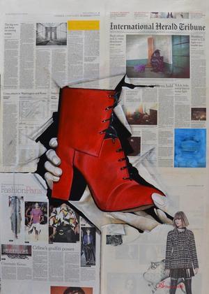 Red boots  Alireza Namadchi