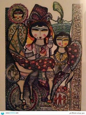 آثار هنری ژازه تباتبایی