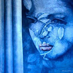 دختر آبی از علیرضا نمدچی