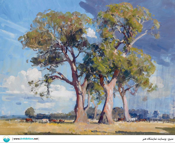Works Of Art Arthur  Streeton