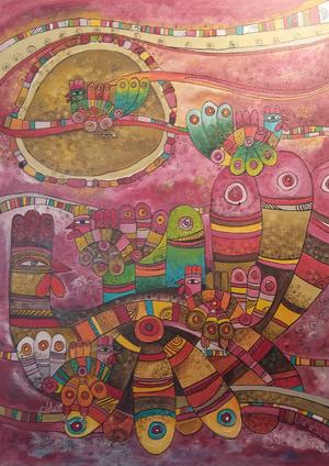 Works Of Art Yalda Mansourian