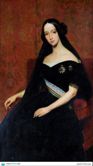 Portrait of the Princess of Joinville   Ary Scheffer