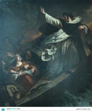 Saint Thomas d'Aquin prêchant la confiance   Ary Scheffer