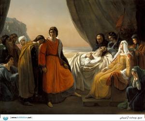 The Death of Saint Louis  Ary Scheffer