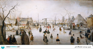 Winter scene  Hendrick avercamp
