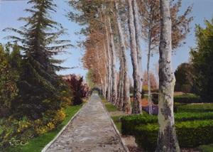 The flowers garden-Isfahan  Elham Dezyani