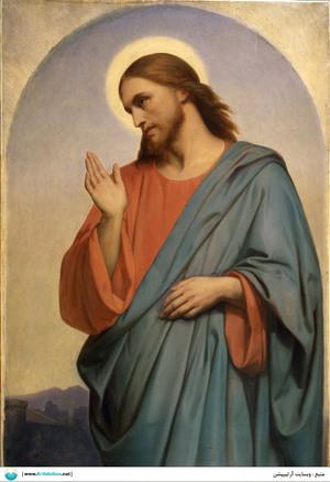 Christ Weeping Over Jerusalem  Ary Scheffer