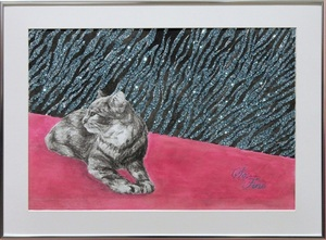 Fine Art Cat  Christina  Humble