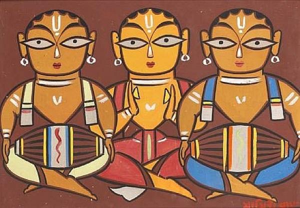 Works Of Art Jamini  Roy