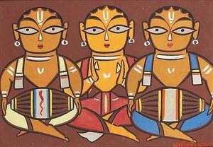 Drummers  Jamini  Roy