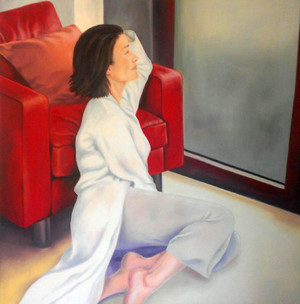 از مجموعه زن ها و مبل ها از مریم درویش