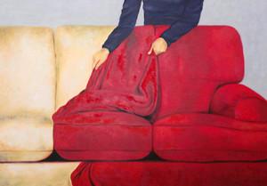 woman & furniture