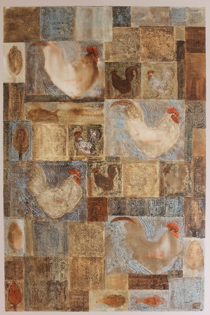 خروس-جغد-سرو  از محمد هادی فدوی