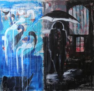 the man in the rain  زيباZiba ويشتهVishteh