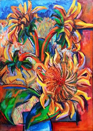Sunflowers  Mehrdad Azad