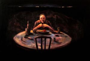 last supper  ghader Mansoori