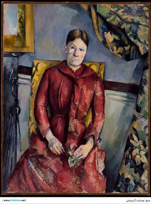 Madame Cézanne   Paul  Cézanne