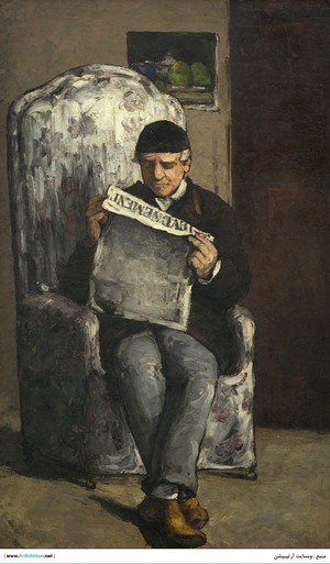 The Artist's Father  Paul  Cézanne