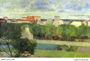 The Market Gardens of Vaugirard   Paul  Gauguin