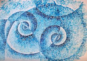 موج آبی از اللهیار خوشبختی
