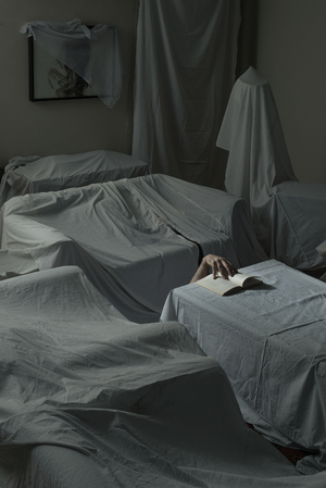 like a hand which keeps a book open in a vacant room  Mehrdad Emrani