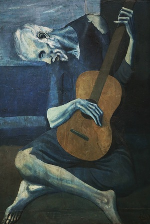 Old guitarist chicago  Pablo Ruiz y Picasso
