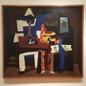 three musicians  Pablo Ruiz y Picasso
