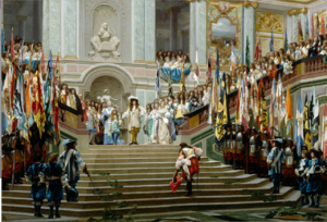 Arrival of General Louis at Versailles  JEAN-LEON   Gerome