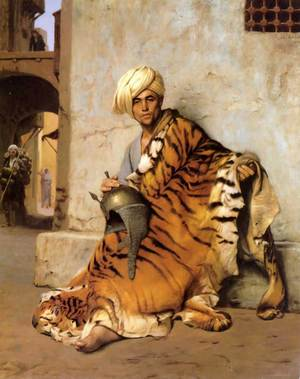 Arab peddler  JEAN-LEON   Gerome