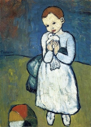 Child with a Dove  Pablo Ruiz y Picasso