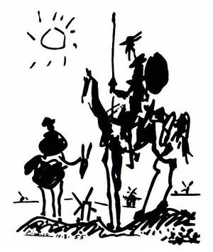 Don Quixote  Pablo Ruiz y Picasso