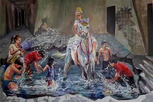 از مجموعه نفس از علی  غیبی