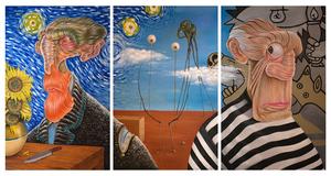 Van Gogh - Dali - Pocasso  Aref Niazi