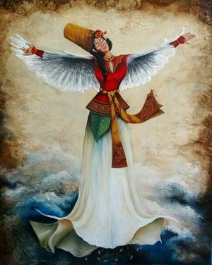 mystical dance  Effat Manouchehri