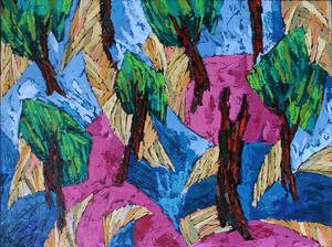 از مجموعه درختان010 از سیروان کنعانی