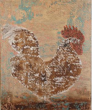 خروس سفید از محمد هادی فدوی