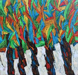 از مجموعه درختان03 از سیروان کنعانی