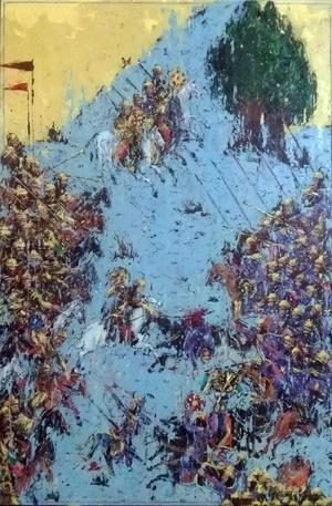 Persian Painting  Vahid Mirbeigi