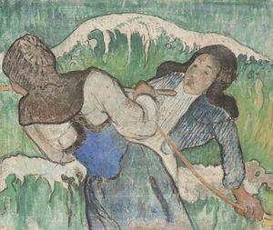 Les Pêcheuses de goëmon  Paul  Gauguin