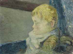Portrait d'enfant  Paul  Gauguin