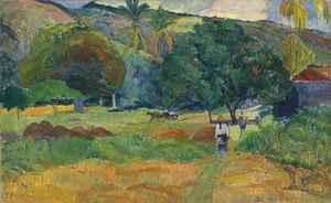 Le vallon  Paul  Gauguin
