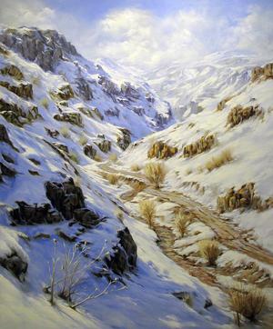 Ardabil  winter  amrollah mohammadi